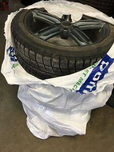 225/50/R18 Audi A6 winter tires/Mags