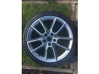4 Skoda Gemini wheels with Goodyear winter tyres