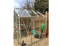 'Simplicity' Green House for sale. 6ft x 5ft. Only 2 years old.