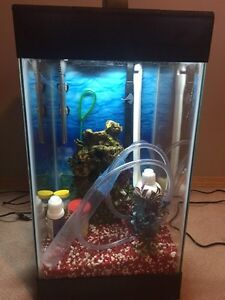 Aqueon 15 gallon deluxe aquarium kit Edmonton Edmonton Area image 2