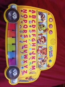 Leap frog touch school bus