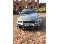 BMW 325i 09 plate