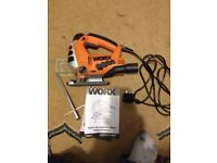 Worx jigsaw and cordless drill