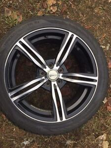 18 inch Nokian winter tires and rims 5X112 bolt pattern