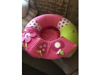 Baby support sitting ring