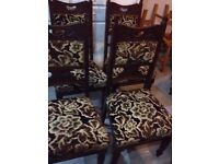 Matching Old Fashioned Chairs