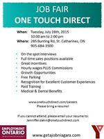One Touch Direct Job Fair