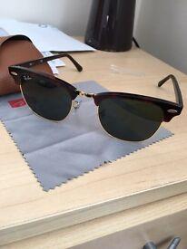 Genuine RayBans Clubmaster sunglasses