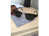 Genuine RayBans Clubmaster sunglasses