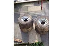 Quad wheels for sale 50cc