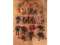 Collection of vintage Kenner toys from 1990-1994. From the Terminator 2 and Aliens