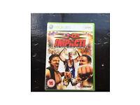 TNA Impact wrestling X Box 360