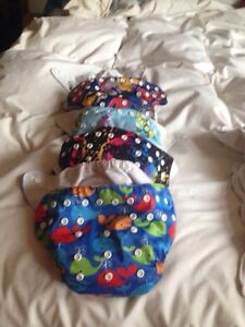 Cloth diapers, pocket style
