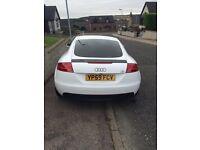 Audi TT white for sale!