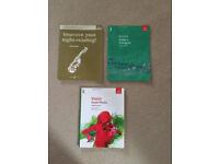 ABRSM violin books -- Grades 3&5