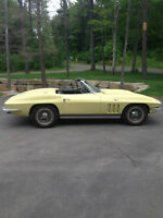 1965 corvette frame off restored