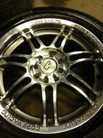 """Full set of summer tires and 16"""" rims $600 obo"""