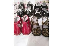 4 pairs of girls Jack and Lilly shoes all like new size 4
