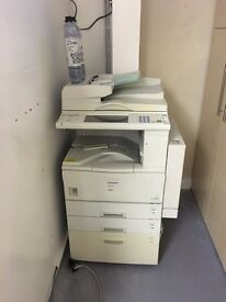 Office printer scanner with spare cartridges