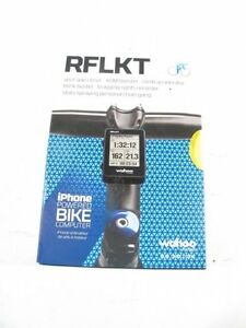 Wahoo RFLKT+ Bike Computer for iPhone 5S, 5C, 5 and 4S WFBKCOMP