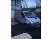 Vauxhall vivaro 56 plate