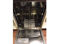 Whirlpool integrated dishwasher