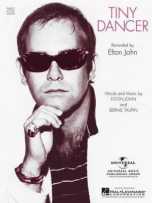 Tiny Dancer Sheet Music Piano Vocal Elton John NEW 000353021
