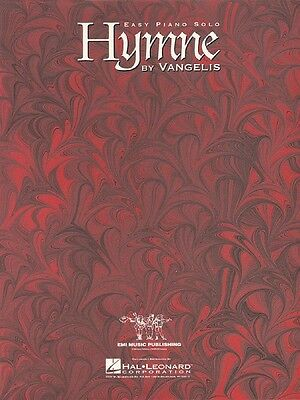 Hymne Sheet Music Easy Piano Solo Vangelis NEW 000110043