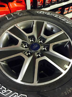 "Ford F150 18"" Tire & Wheel Set"