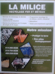 Ramassage rebuts recyclage grand menage dechets fer transport City of Montréal Greater Montréal image 1