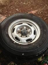 Ford PJ Ranger 4 x 4  steel wheels and tyres, Kiama Kiama Area Preview