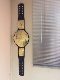 WWE WORLD HEAVYWEIGHT CHAMPIONSHIP GOLD WRESTLING BELT WWE REPLICA BELT Champion ADULTS