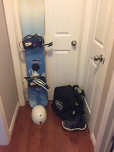 Need Gone - FireFly Snowboard, Scotties Boots & Bag, Helmet