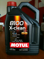 motul 5w40 8100 x-clean for sale $55