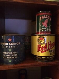 Tins for sale