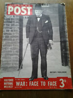 """JOURNAL ANGLAIS 1940 """" PICTURE POST """""""