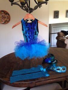 Peacock masquerade  costume
