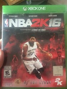 NBA 2K16 XBOX ONE $20  West Island Greater Montréal image 1