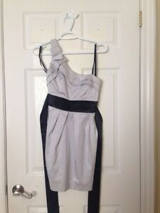 Grey/Black Mini Dress Windsor Region Ontario image 1