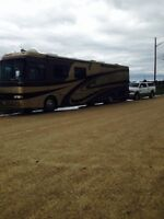 Water front cottage lot complete with 40ft. Motor Home
