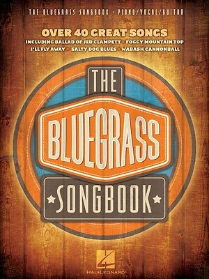 The Bluegrass Songbook Sheet Music Piano Vocal Guitar SongBook NEW 000312317