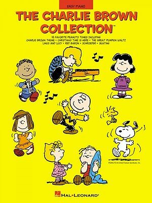 The Charlie Brown Collection Sheet Music Easy Piano Songbook NEW 000316070