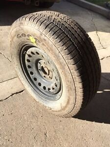 Spare tire for chevy/gmc