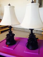 2 nights lamps in good condition