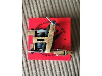 Micky Sharpz hybrid tattoo Machine brass