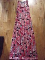 NEW multicolor racerback maxi dress - Size Small