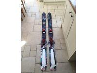 Salomon Rocker powder skis (freestyle, Atomic, twintips, Armada)