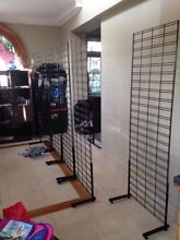 Mesh Wall frame racks stands with arms Brisbane Region Preview