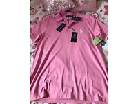 Genuine Ralph Lauren polo top size large