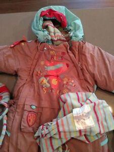 Habit de neige 12 mois Souris Mini et accessoires